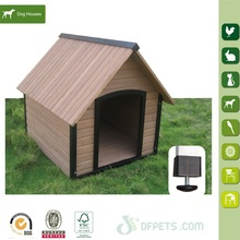 Commercial Wooden pet cage dog house waterproof Roof