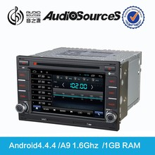 audiosources dvd player for old Golf 4 car dvd player with GPS 3G RDS 10-CDC