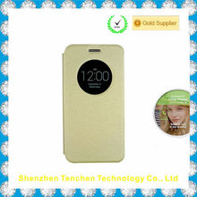 for asus zenfone 6 case, PU leather flip case cover with open window
