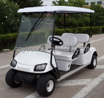 China factory price 4 seats 250CC gas powered golf cars for tourist