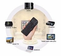 Keyboard Remote Control with Touchpad 2.4GHz Wireless Mini Multi Touch Trackpad Mouse Combo for Raspberry pi/HTPC/XBMC/Google