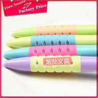 Hot sale low price new stationery products wholesale cartoon pen ball pens with logo print plastic