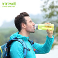 Miniwell L620 water filter with hard plastic water bottle
