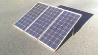 High Efficiency Portable Compact solar panel thermal photovoltaic