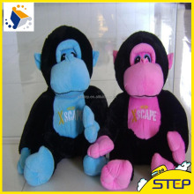2016 New Arrival Lovely Monkey Stuffed Plush Toy ICTI Audited Factory Blue Pink Monkey ST1631821
