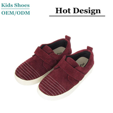 plain suede footwear genuine leather boys board shoes