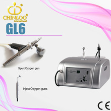 GL6 2015 the newest oxygen inject skin care machine/ oxygen injection beauty equipment/ce