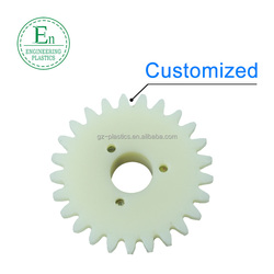 HIgh performance injection molding plastic small gears for toys nylon gears