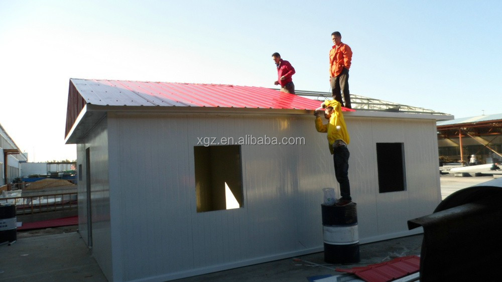 low cost easy assembly prefabricated labour camp
