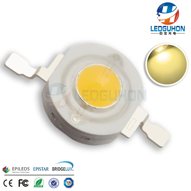 Save 10% Free Sample Warm White Emitting Color Bridgelux 3 Watt LED Chip