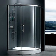 HS-SR828 cheap price 6mm glass sliding compact enclosed shower enclosure