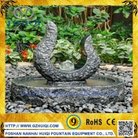 Wholesale Granite Crystal Ball Water Fountain Garden Decor