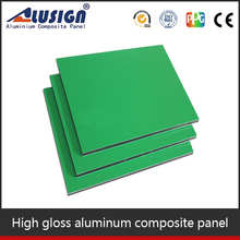 Alusign waterproof aluminum composite panel construction materials rv building materials