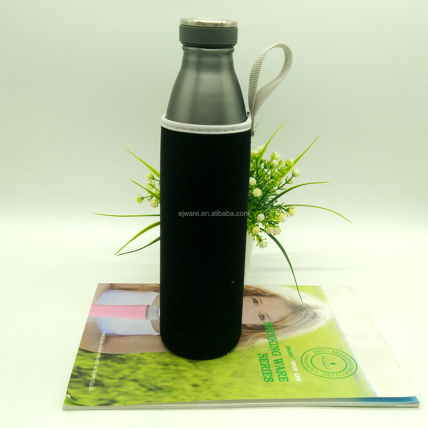 Bowling Shape Stainless Steel Bottle Eco Friendly Cola Drink Bottle Insulated Double Wall Stainless Steel