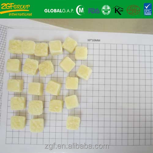IQF frozen mashed crushed garlic