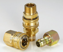 ZJ-KC American type brass quick coupling,brass fitting,brass compression fitting