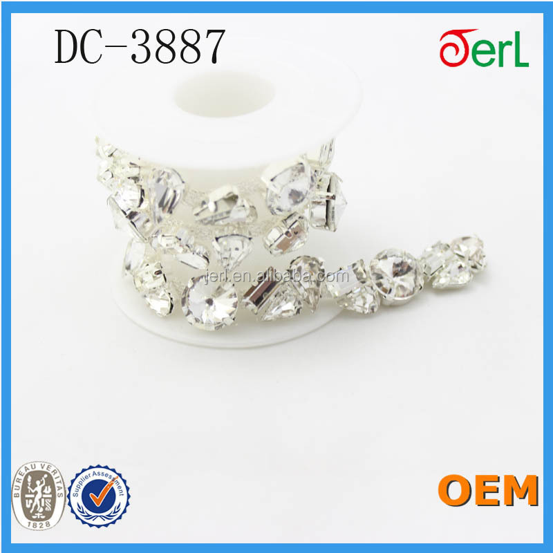 wedding table crystal chain for chandeliers DC-3887