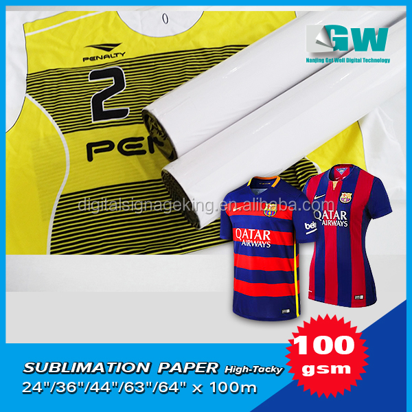 100gsm High Sticky sublimation paper