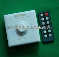 12V Cheap ir remote control led dimmer controller timer