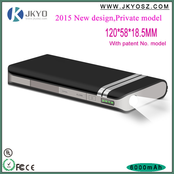 high capacity power bank innovative products for import/anker 6000/10000mah power bank battery charger with led light
