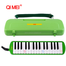 low melodica pirce 32 key green colour melodica
