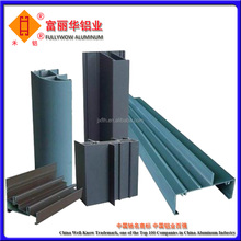 Polished/ Mill Finished/ anodized or Powder coating aluminum extrusion profile for window