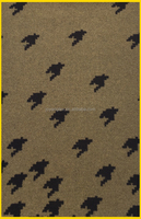 Jacquard houndstooth wool fabric/woolen fabric for garments