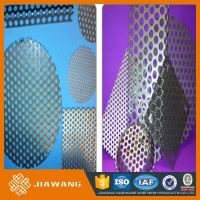 small hole gi perforated metal mesh