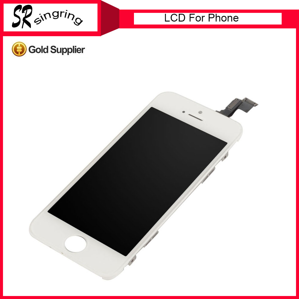 Factory Price For iPhone 5 5S 5C LCD Display + Touch Screen Digitizer with Front Camera