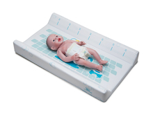 Portable Plastic Changing Table Pad for Baby with Height Measurement