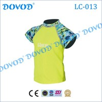 Swimwear rash guard fabric lycra shirt