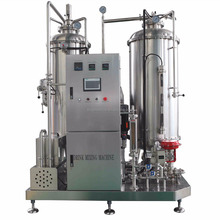 Carbonated automatic soft drink mixing machine