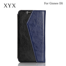 New coming funky Luxury Wallet phone covers for Gionee e6, flip case for gionee mobile phone