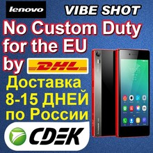 Original Lenovo VIBE Shot Z90-7 4G FDD LTE Cell Phone Snapdragon 615 Octa Core Android 5.0 3GB RAM 32GB ROM 5.0inch 16MP