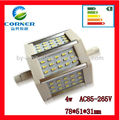 new arrival 4w R7S SMD3014 AC85-265v light wholesale
