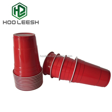 16OZ Disposable Plastic Solo Cup Party Red Beer Pong Cups