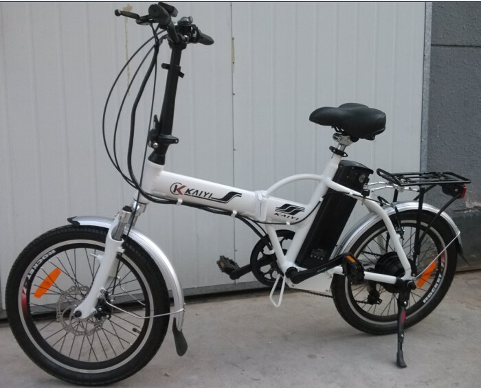 CE EN15194 8 fun motor, 36V electric bicycle folding