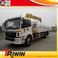 factory sale new china cheap price 265 hp 16 ton straight arm 8X4 truck mounted crane