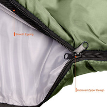 Portable Waterproof Camping Sleeping Bag-Envelope Sleeping Bag Easy to carry Warm Adult Sleeping Bag Outdoor Sports