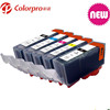 Hot selling Refillable ink cartridge for Canon PGI525 CLI526 pgi-525 cli-526 pgi PG 525 PG525 PIXMA IP4850/MG5150/MG5250 K/C/M/Y