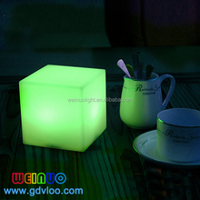 16 Colors changing LED light up bar rgb led cube color changing led ambient mood table lighting
