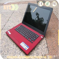 2013 hot selling 14inch laptop computer with DVD ROM Intel D2500/N2600 W/option for 4GB RAM & 500GB WIFI camera used laptops