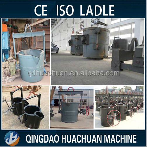 China supplier !!! Hot Metal Ladle Pouring Ladle For Foundry Bottom Pouring Ladle RFQ