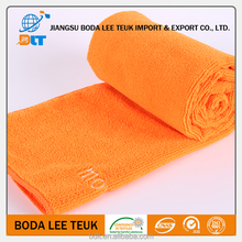 sporting with custom logo and high quality microfiber car towel