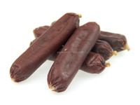 pet food factory for sale No Additives Beef Sausage 2014 new pet products