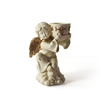 Small angel religious candle holder