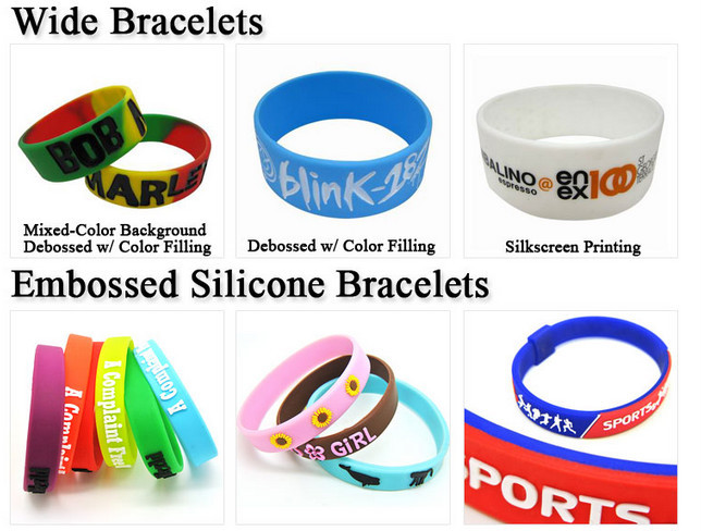 eco friendly recycled silicon wristband with bar code