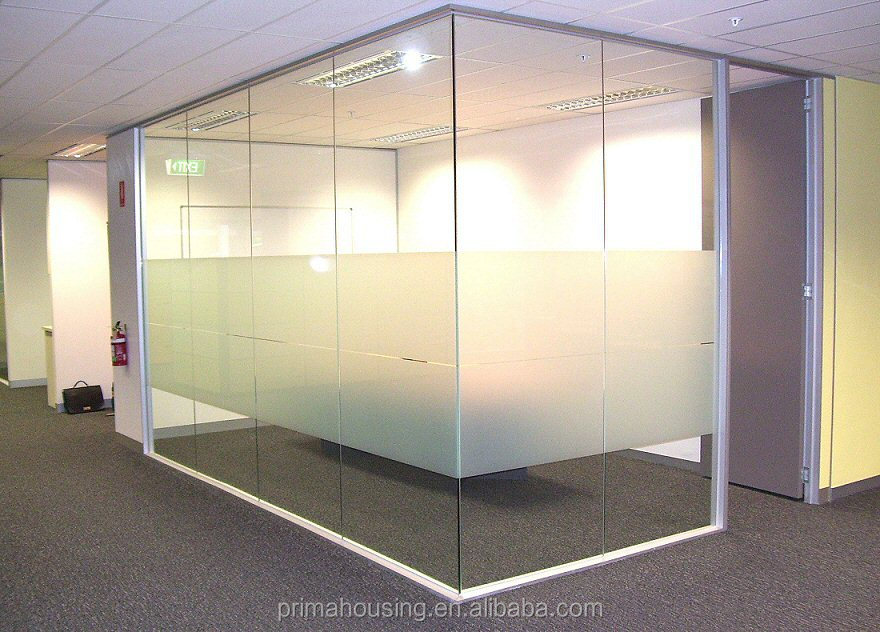 New Office Glass Sliding Movable Partition Wall - Buy ...