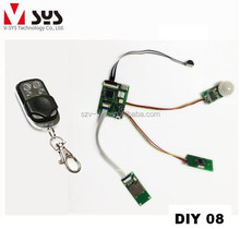 Hidden mini camera for spy application with PIR detection remote detection