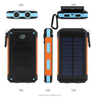 Solar usb output travelling battery charger for mobile phone